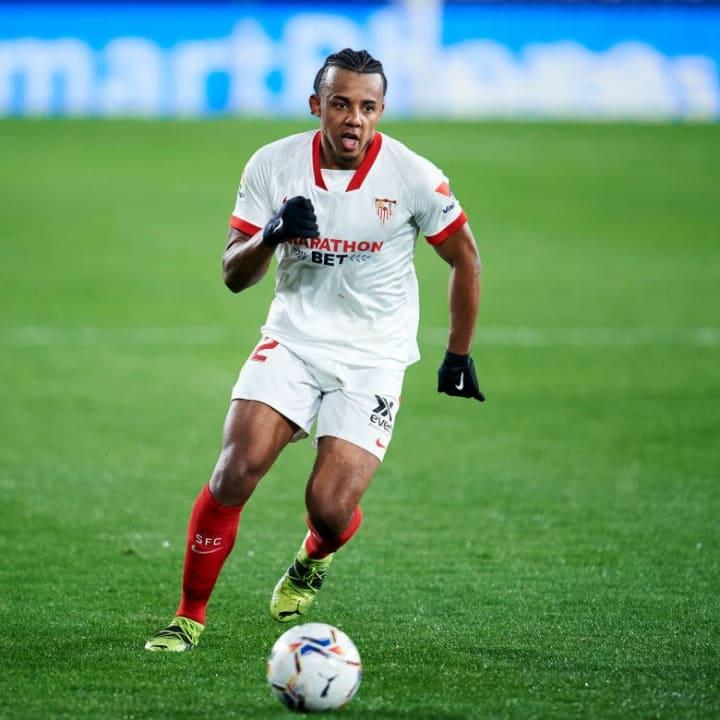 Kounde has been excellent for Sevilla
