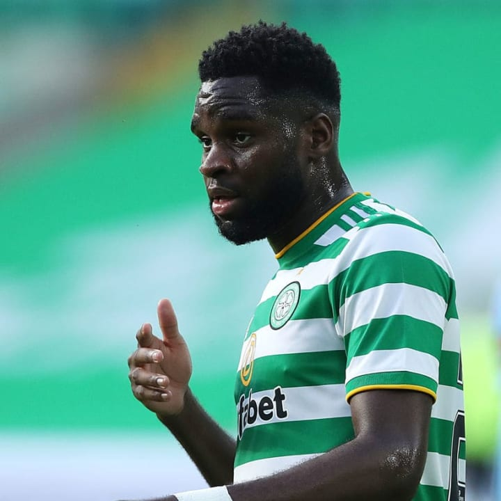 Odsonne Edouard struggled to get into the game