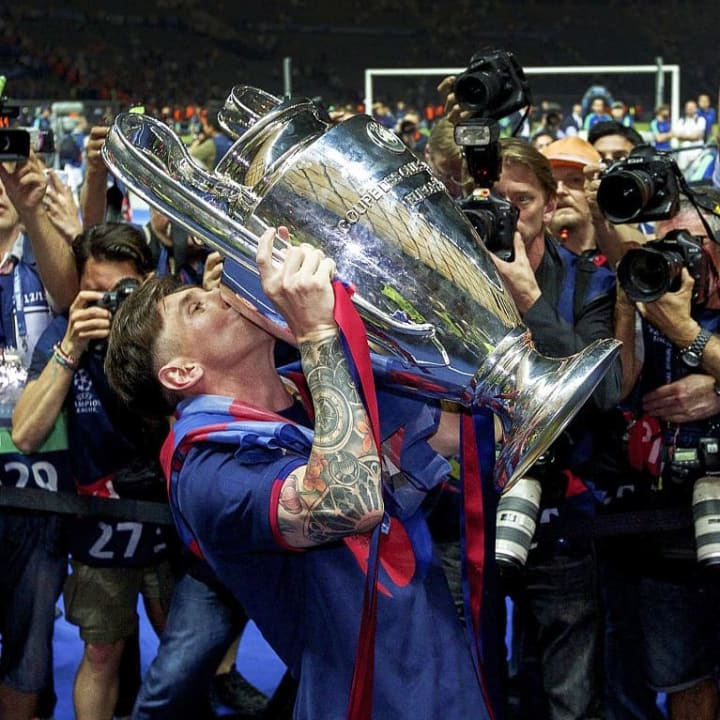 "Champions League final - ""Barcelona v Juventus"""