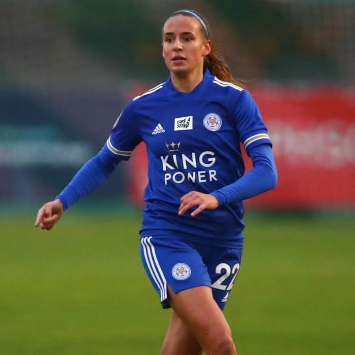Ashleigh Plumptre grew up a Leicester fan