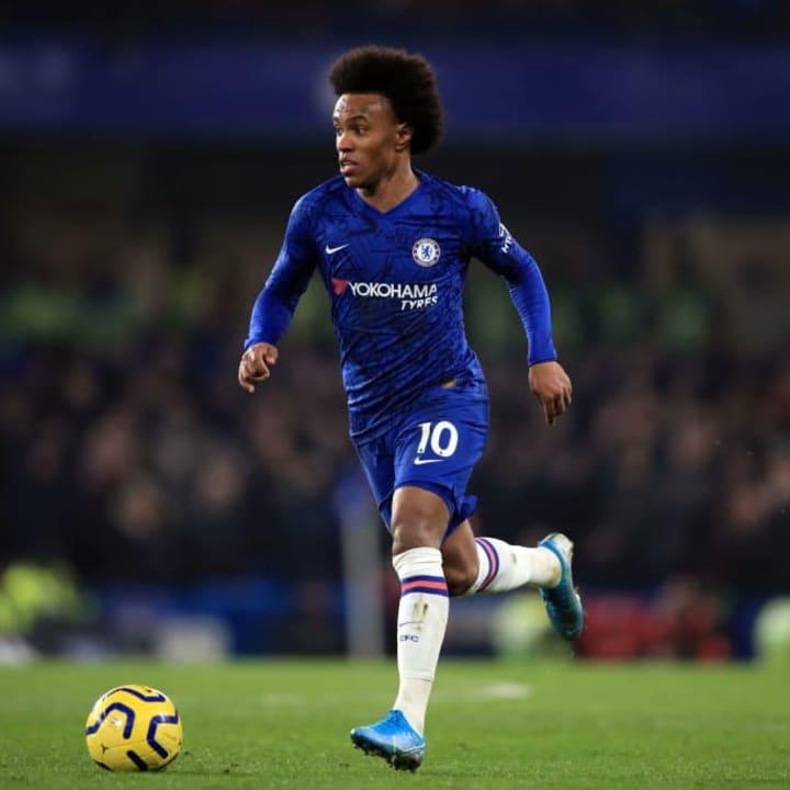Willian left Chelsea on a free transfer