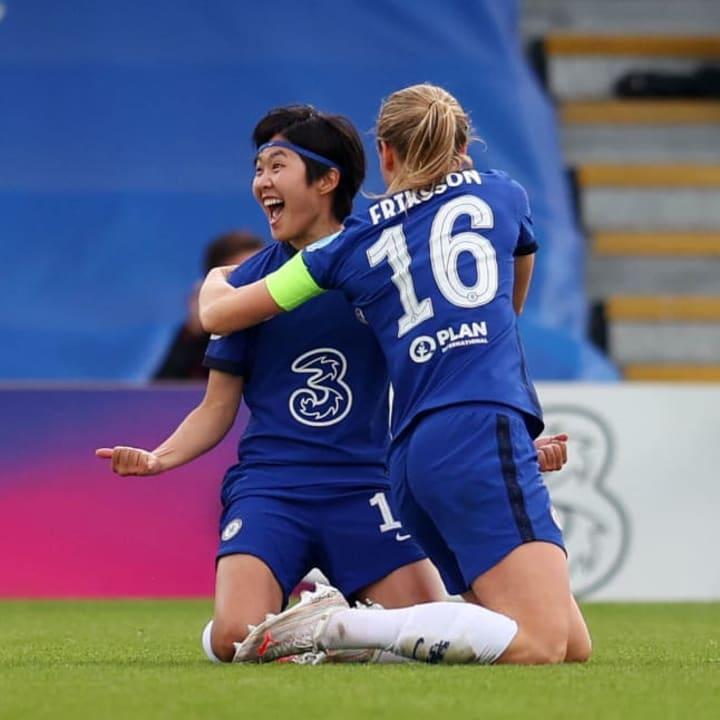 Ji So-Yun, Magdalena Eriksson