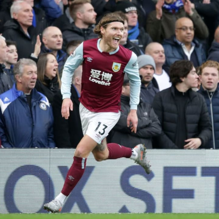 Hendrick initially joined Burnley in 2016