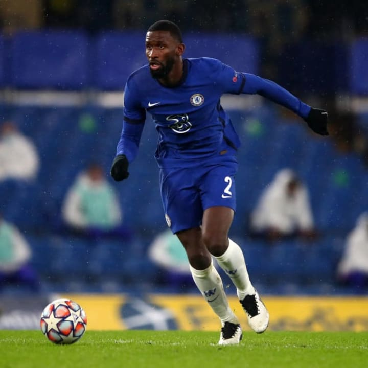 Rudiger was unimpressed to be out on the fringes