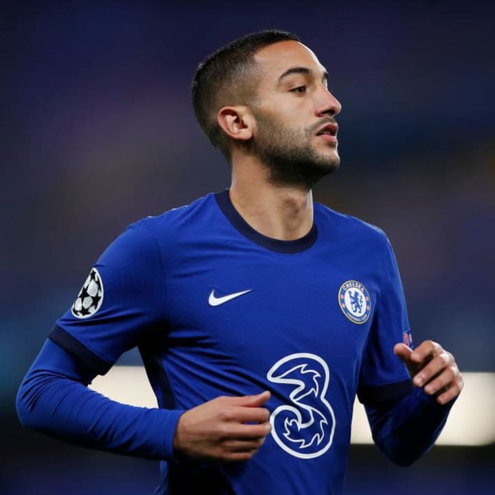 Hakim Ziyech could be in line for his first Chelsea start