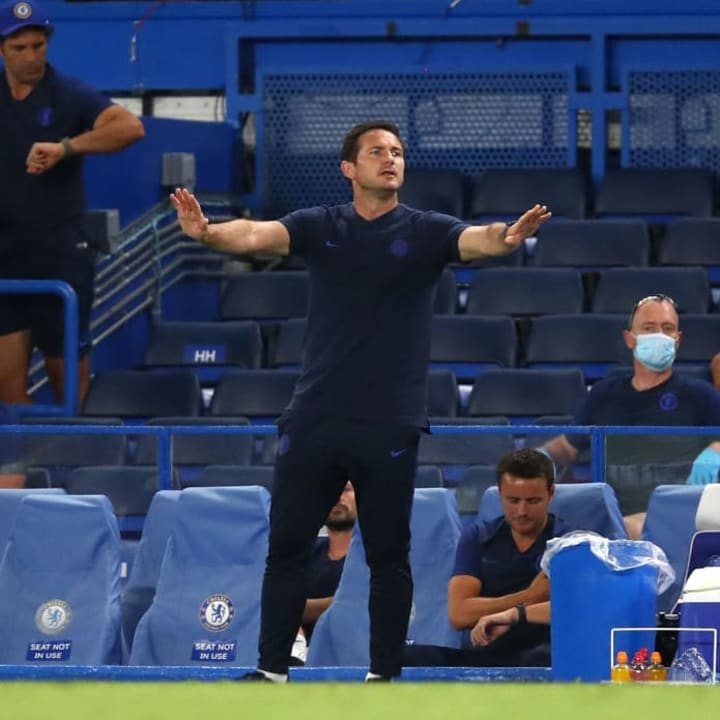 Frank Lampard could use Rice as part of a back three