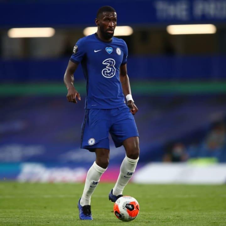 Antonio Rudiger is rumoured to be under pressure at Chelsea