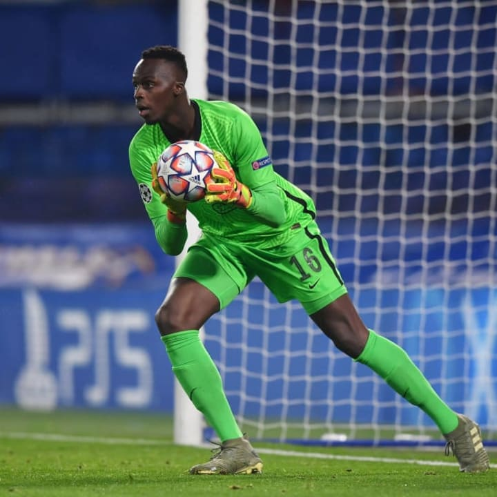 Edouard Mendy has 6 clean sheets in 7 games