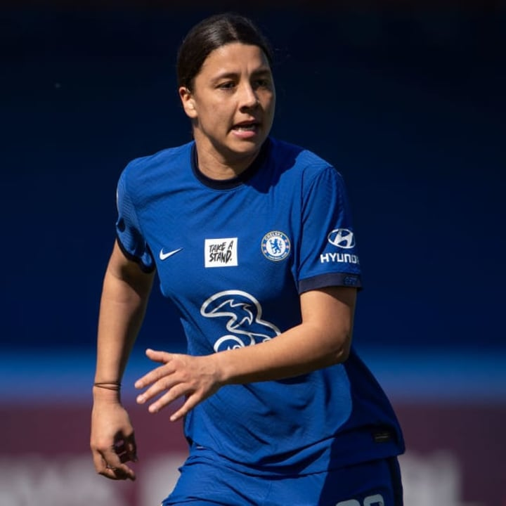 Sam Kerr has found her feet at Chelsea