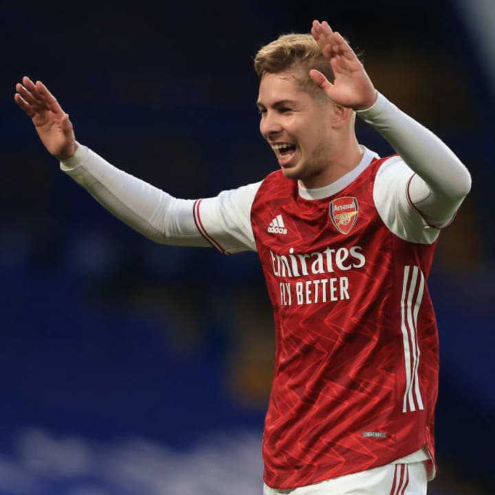 Emile Smith Rowe hands Arsenal the lead