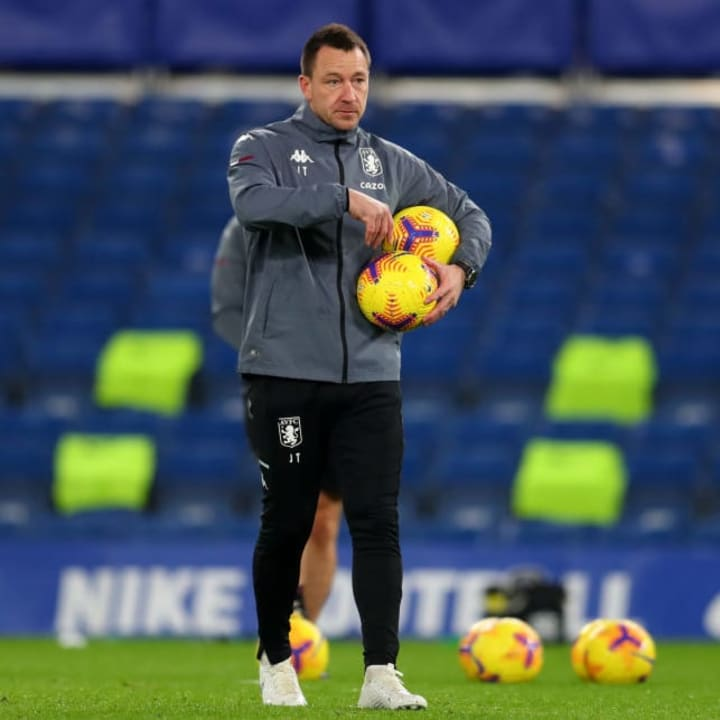 John  Terry is assistant manager at Aston Villa