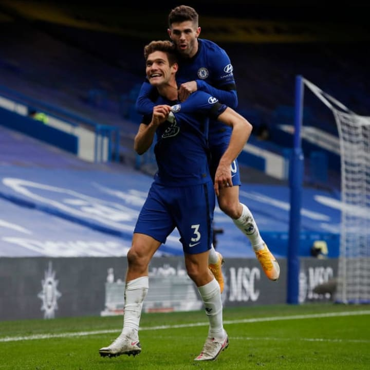 Marcos Alonso, Christian Pulisic