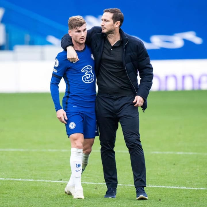 Lampard will look to Werner to pick up where he left off