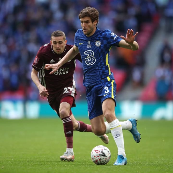 Marcos Alonso, Timothy Castagne