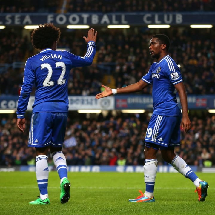 Samuel Eto'o, Willian