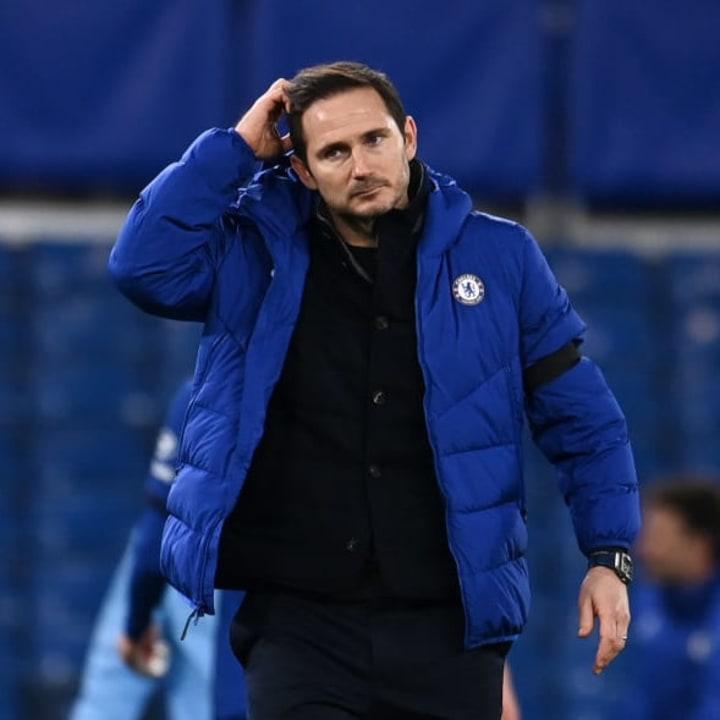 Frank Lampard was named as Chelsea boss in July 2019