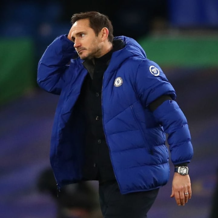 Lampard failed to prove his worth to Chelsea
