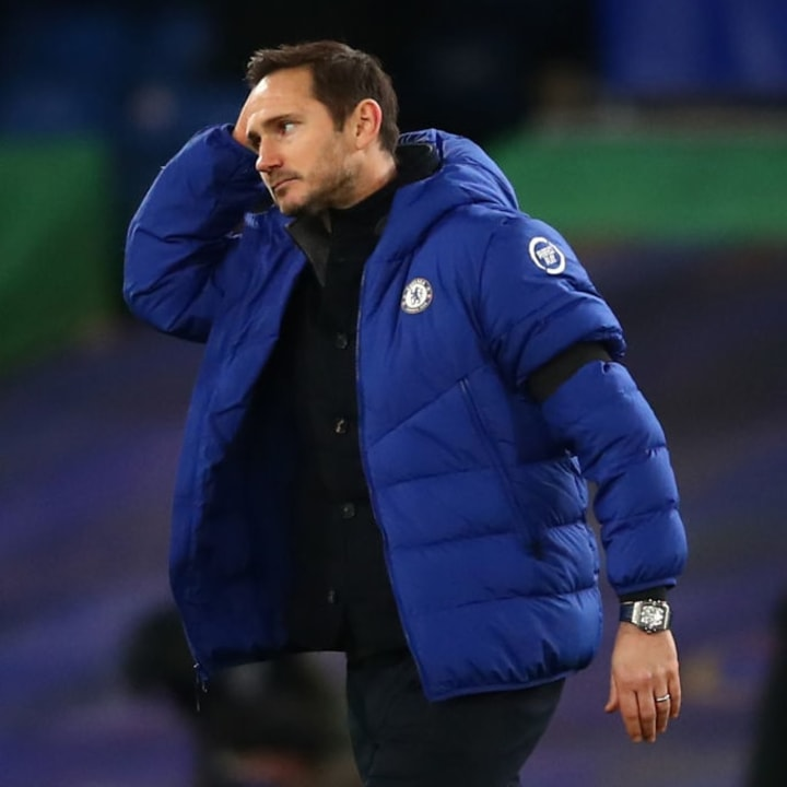 Lampard has failed to turn things around