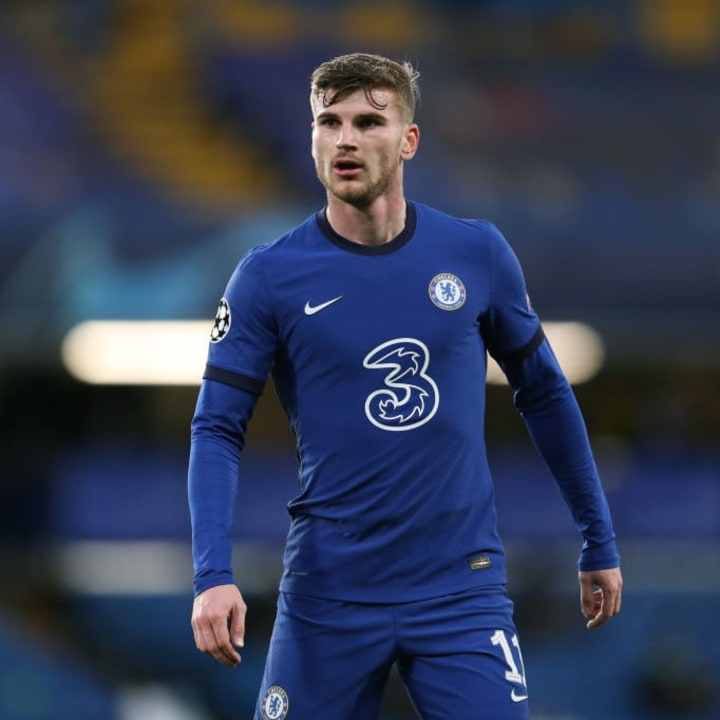 Timo Werner opened the scoring for Chelsea