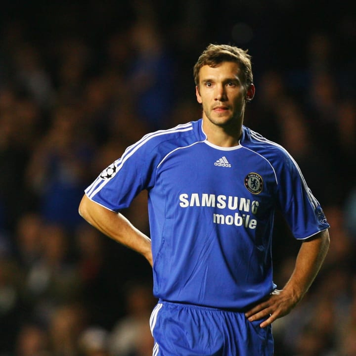 Shevchenko never hit the heights at Chelsea