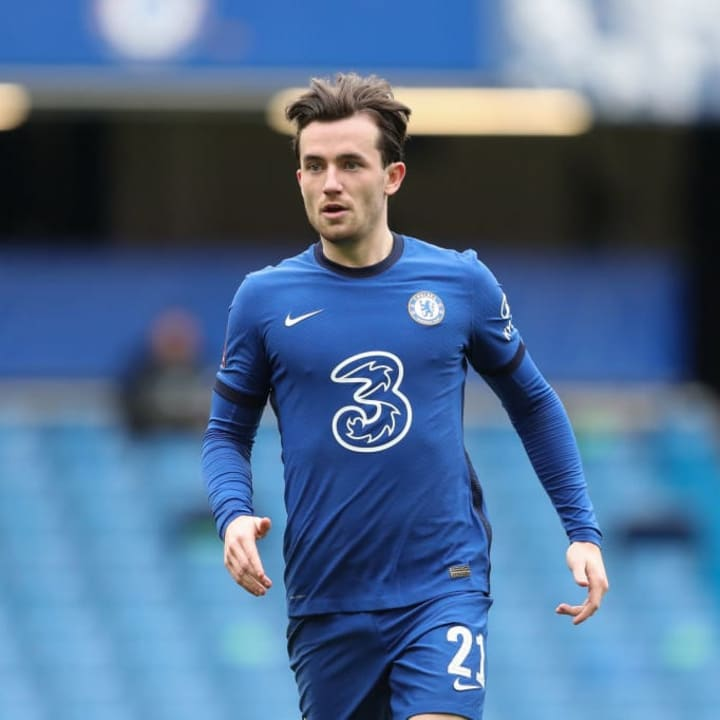 Ben Chilwell has regained his place as Chelsea's number one left-back