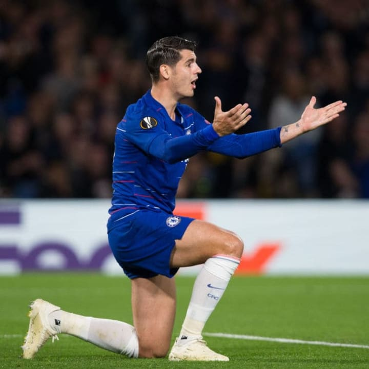 Morata's struggles are back in the limelight