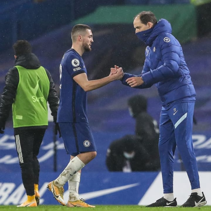 Thomas Tuchel took charge of Chelsea for the first time on Wednesday evening