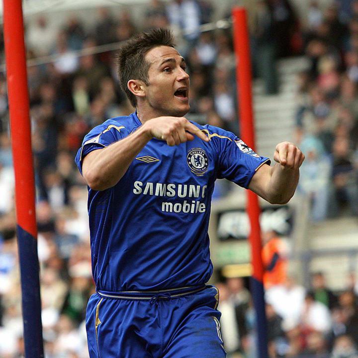 Chelsea's Frank Lampard celebrates scori
