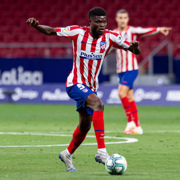 Partey has two years to run on his contract