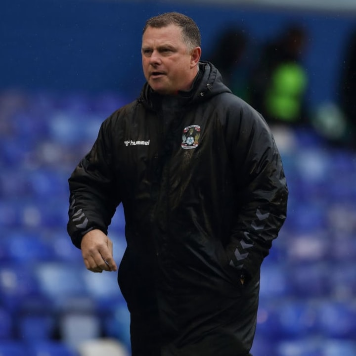 Mark Robins has done superbly under difficult circumstances at Coventry