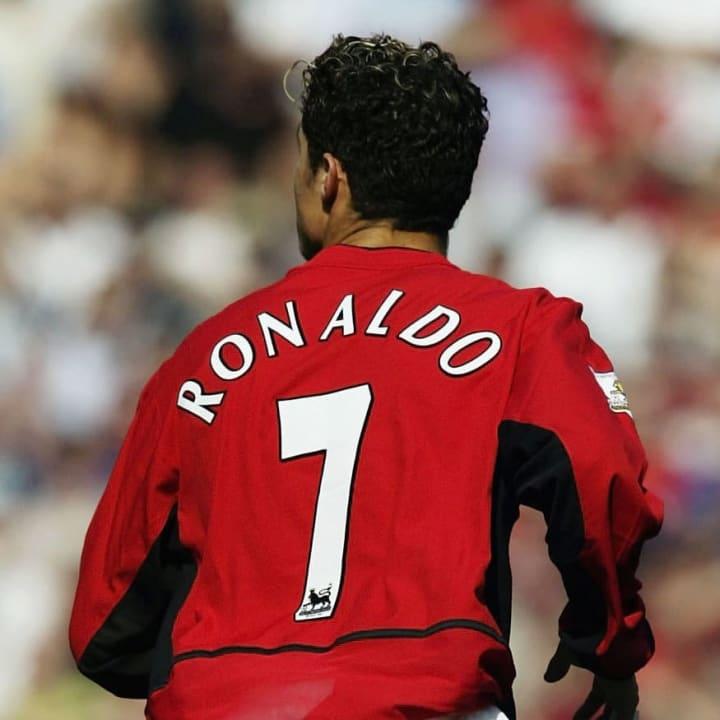 Cristiano Ronaldo dari Man Utd Membuat Debutnya
