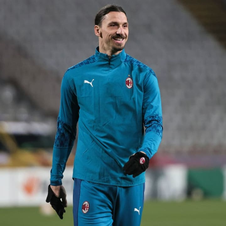Ibrahimovic spent the Europa League game on the bench
