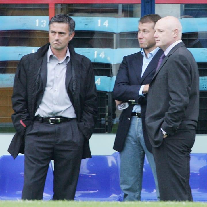 Jose Mourinho, Roman Abramovich