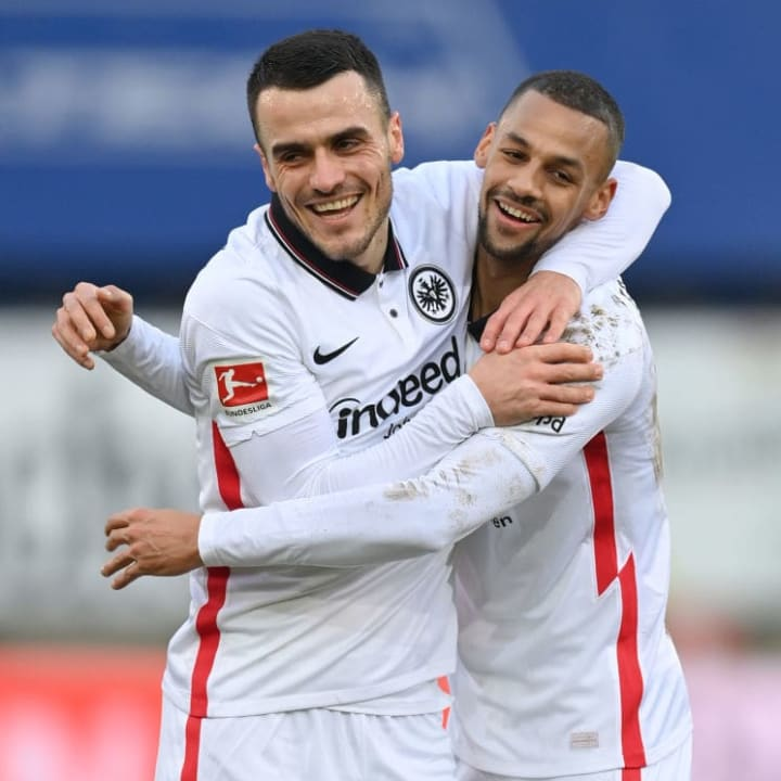Frankfurt are in the top 20