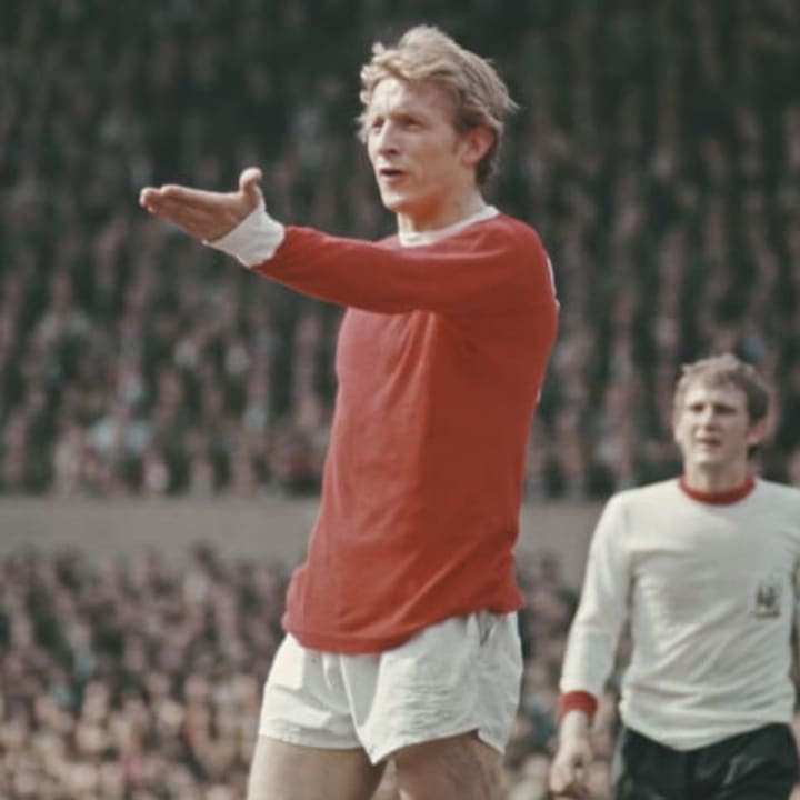 Denis Law was nicknamed 'The King' at Man Utd