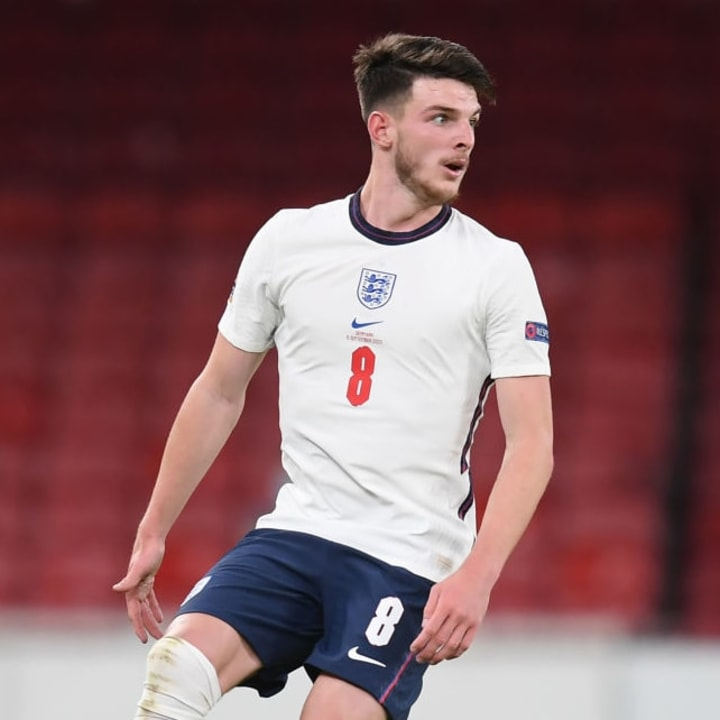 Declan Rice is struggling for fitness