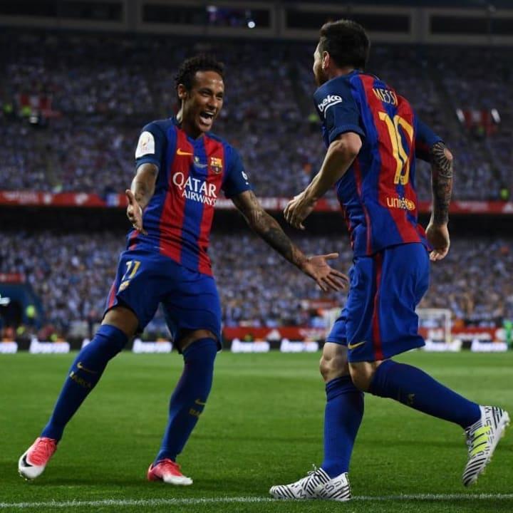 Lionel Messi, Neymar Jr.