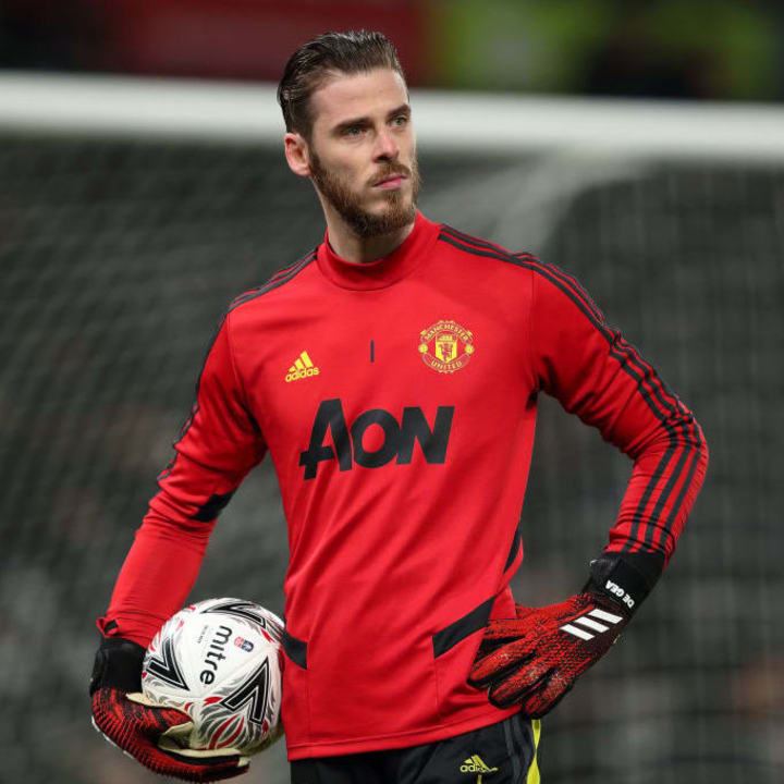 De Gea joined Manchester United in 2011
