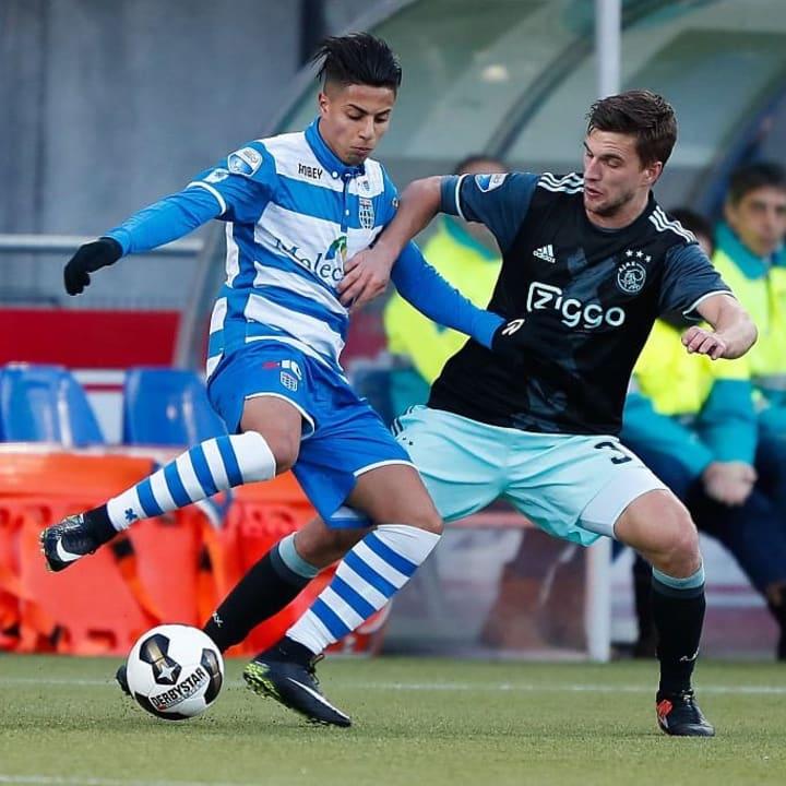 "Dutch Eredivisie""PEC Zwolle v Ajax"""