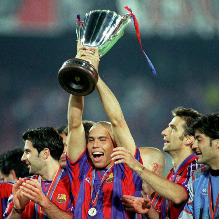 Ronaldo Nazario spent one year at Camp Nou