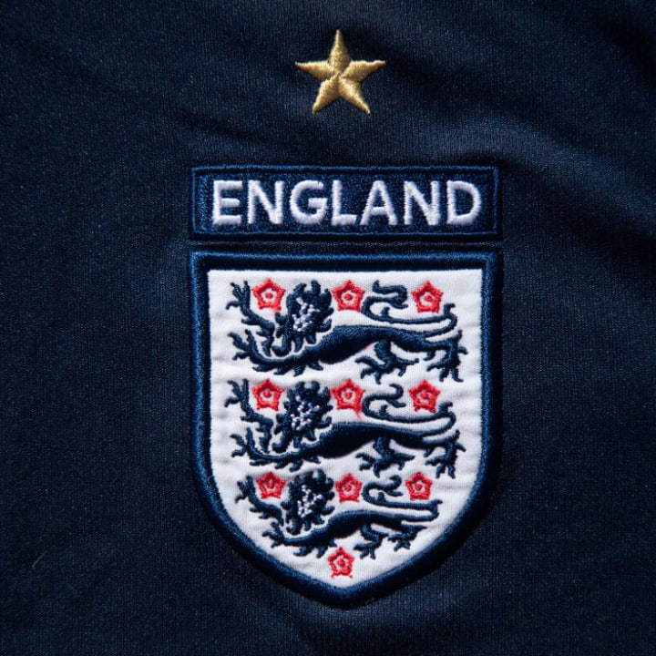 The badge on the England kit will remain the same
