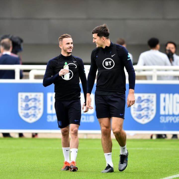 Harry Maguire, James Maddison