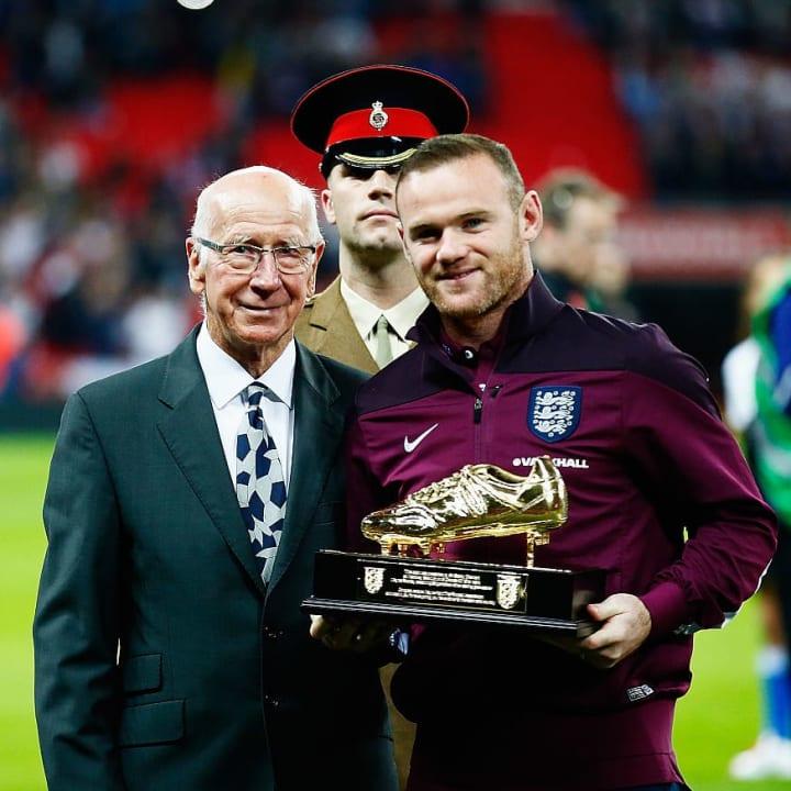 Wayne Rooney, Sir Bobby Charlton