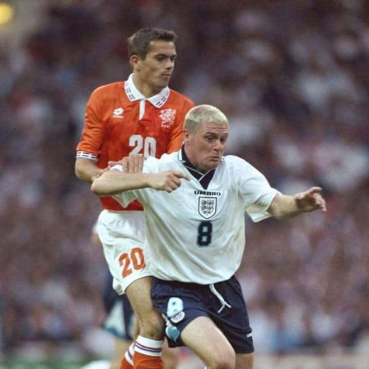 Paul Gascoigne at Euro 96