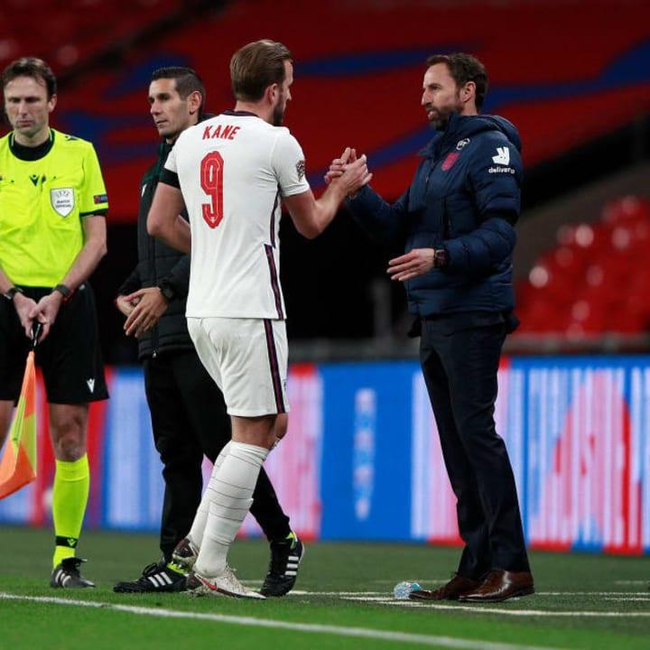 Harry Kane, Gareth Southgate