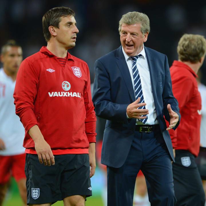 Gary Neville, Roy Hodgson