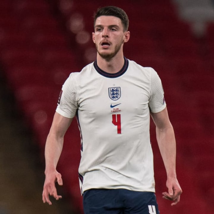 Rice is an important starter for England but could miss Euro 2020