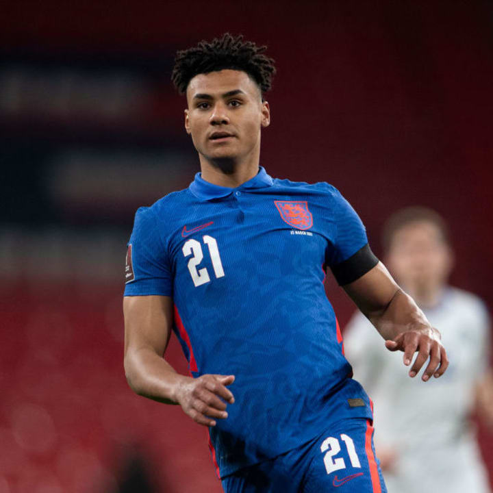 Ollie Watkins now has two caps for his country