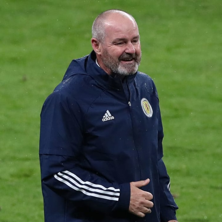 Steve Clarke was delighted with Scotland's performance