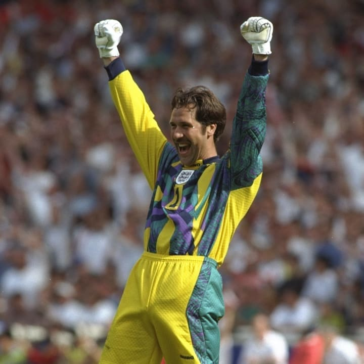 David Seaman was England's number one for Euro 96
